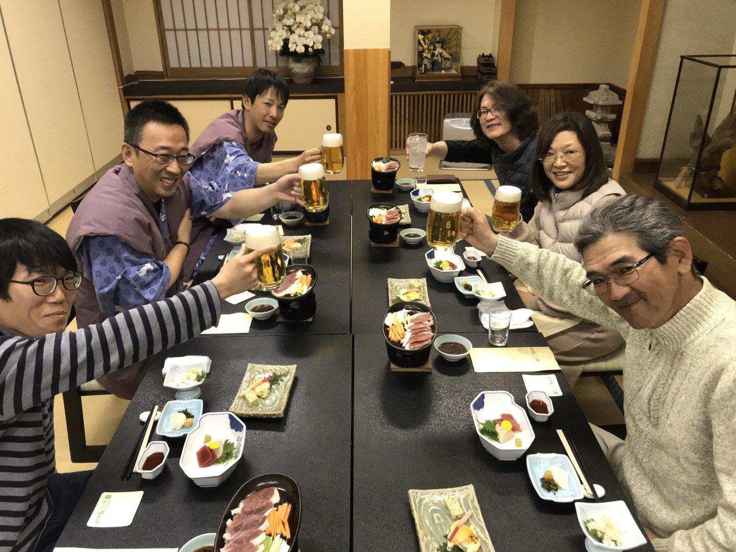 栃木県日光で乾杯!